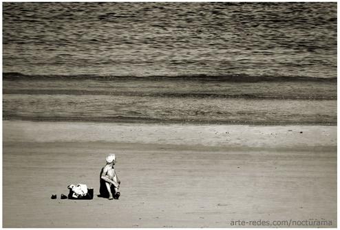 Volverse a su murmullo - Playa de San Sebastián