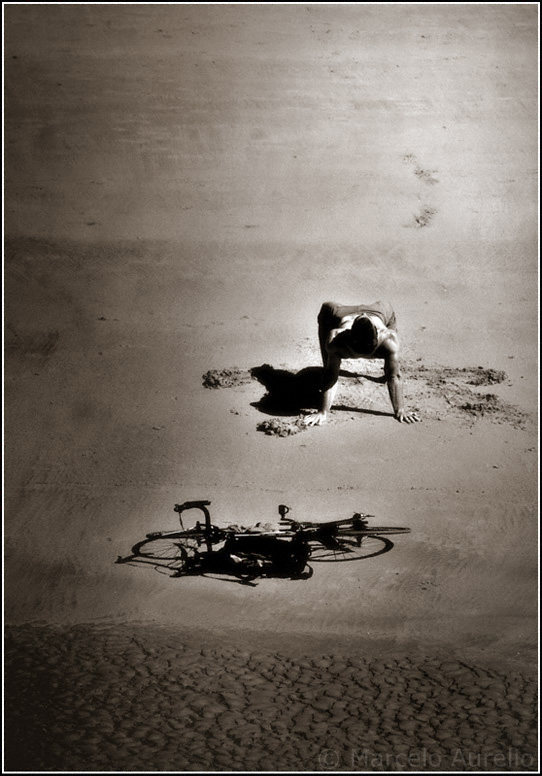 En la playa - San Sebastián -  Euskadi