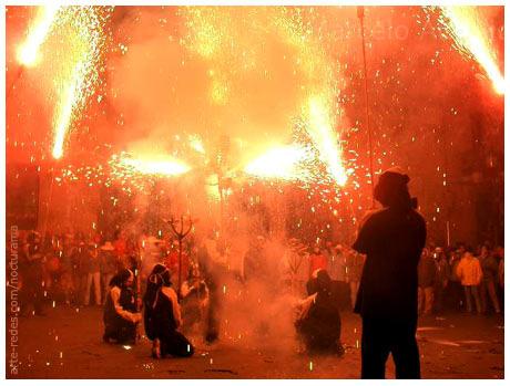 Raval Infernal en Terrassa, Barcelona