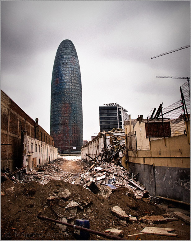 Perspectivas - Torre Agbar - Barcelona
