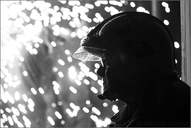 El bombero - Raval Infernal Terrassa 2008 - Barcelona