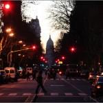 Avenida de Mayo y el Congreso - Buenos Aires - Argentina
