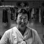 Asunción. Una trabajadora. - Carnicera de Llívia - Girona