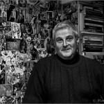 Alessandro Merlin - Maestro ceramista en su estudio de Venecia - Venecia - Italia