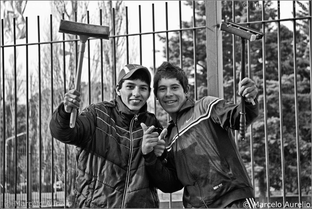 Los pibes del semáforo - Neuquén - Argentina