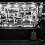 Rosa y su homenaje - Carnaval en el Mercado de la Boqueria - Barcelona