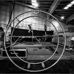 Ensayando para el 5to. Gran Cabaret de Circo en La Fabrik 2 - Rubí - Barcelona