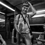 El músico que llenó el tren de blues - Barcelona