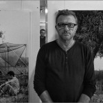 Gustavo Germano en su exposición Ausenc'as - Pati Llimona - Barcelona