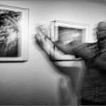 Doug Menuez en su exposición: Un genio audaz. La Virreina. Barcelona, 2013.