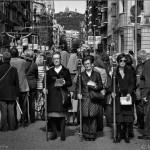 La procesión. Barcelona, 2013. © Marcelo Aurelio