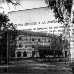 ESMA - Carta abierta de un escritor a la junta militar, Rodolfo Walsh. Instalación de León Ferrari. Buenos Aires. © Marcelo Aurelio