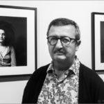 Xavier Gómez en su exposición