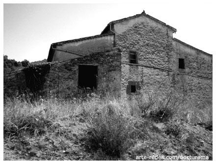 Masía abandonada camino a Rellinars, Vallès Occidental, Barcelona