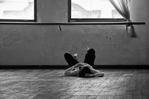 Una clase de Analia Gonzalez en el Estudio Olga Ferri. Buenos Aires, 2010. © Marcelo Aurelio