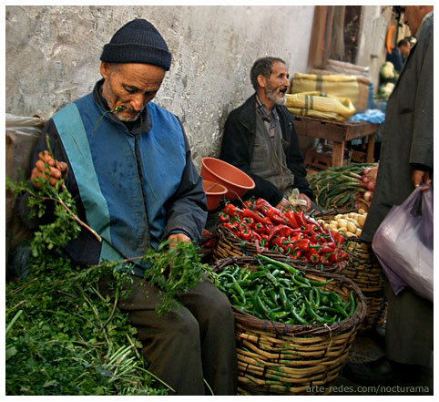 Mercado en Casablanca - Marruecos