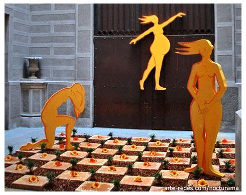 Temps de Flors 2005 , Girona - 8 de marzo, Día Internacional de la Mujer