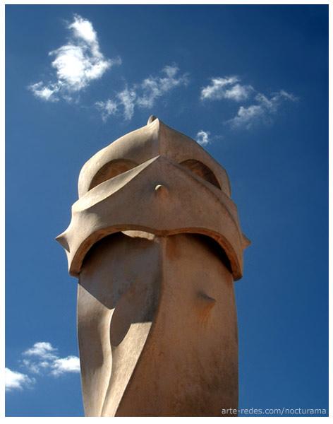 La Pedrera - Casa Milà   -  Antoni Gaudí .