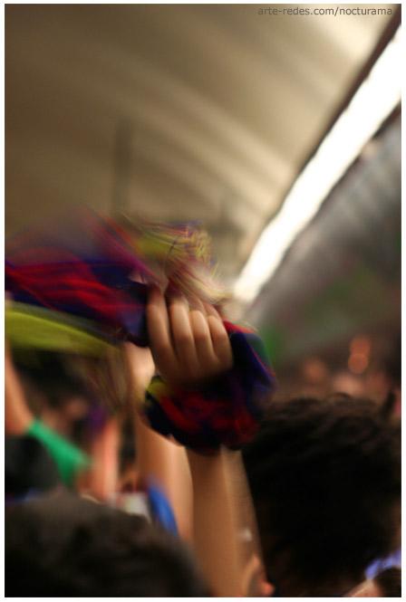 Barcelona  campeón de la Champions League - Festejos en el metro - Barcelona