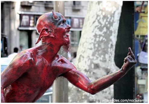 06-06-06 - 666 El diablo entre nosotros... - Rambla de Barcelona