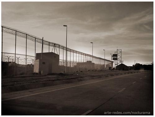 La valla de Melilla - Nocturama Fotoblog