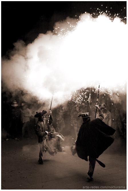 Danzando en el Raval Infernal - Fiesta Mayor de Terrassa 2006 - Barcelona
