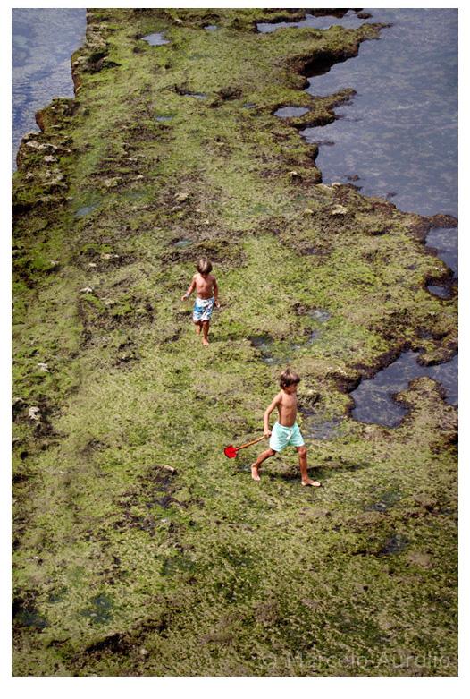 Caminando sobre el Google Earth II - Biarritz - Francia