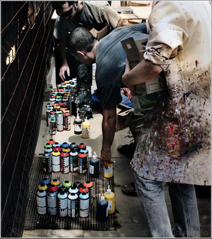 Artistas Urbanos - Barrio La Mina - Barcelona