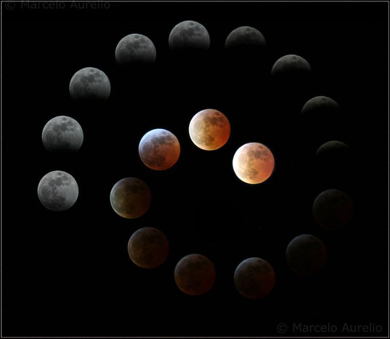 Eclipse de luna total - marzo 2007