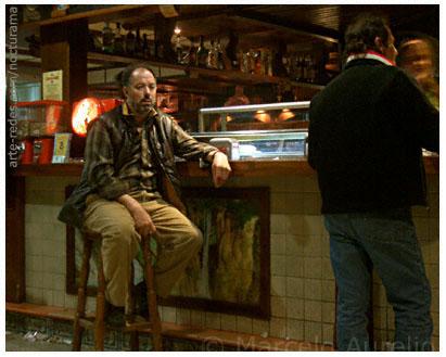 bar - parador a mitad de camino entre Madrid y Barcelona