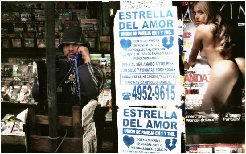 La llamada del amor - Plaza Constitución - Buenos Aires - Argentina