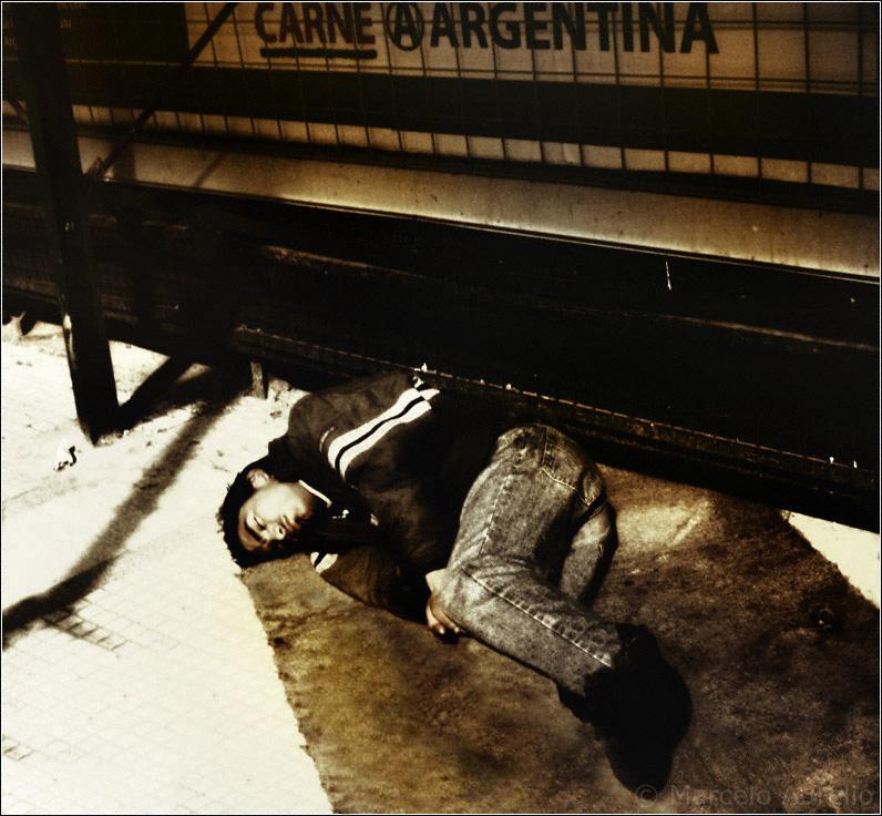 Avenida Corrientes y Talcahuano - Ciudad de Buenos Aires - Argentina