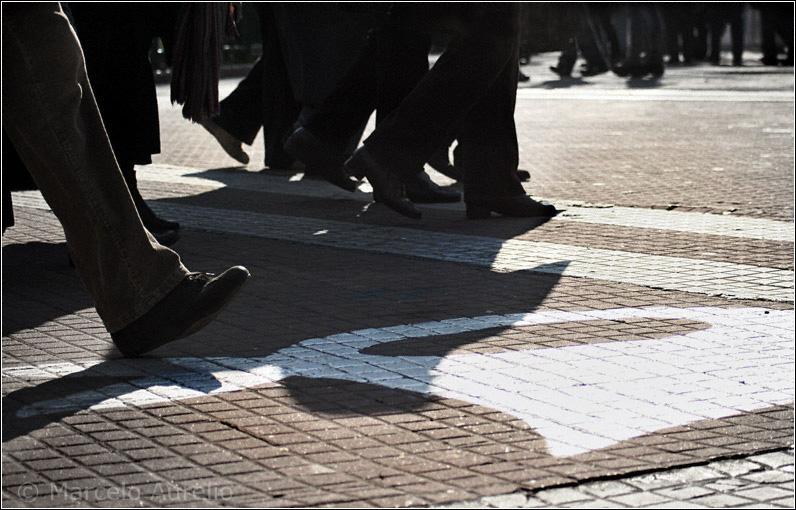 La marcha de los jueves junto a las Madres de Plaza de Mayo (Plaza de Mayo, Buenos Aires, Argentina)