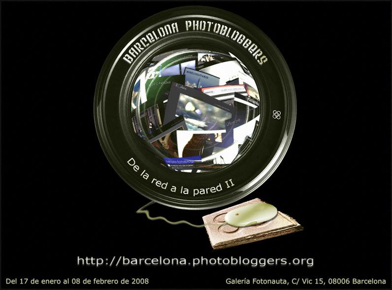 De la red a la pared II - Exposición de Barcelona Photobloggers en la Galería Fotonauta de Barcelona