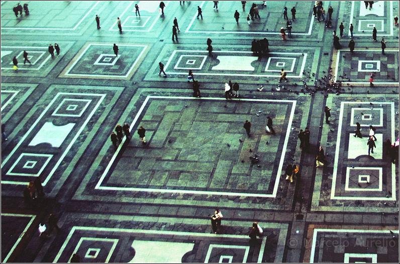 Plaza del Duomo - Milan - Italia