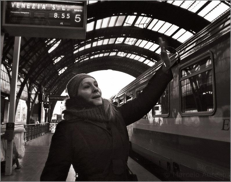 Venezia 8.55 - Estación Central de Milán (Milano Centrale) - Italia