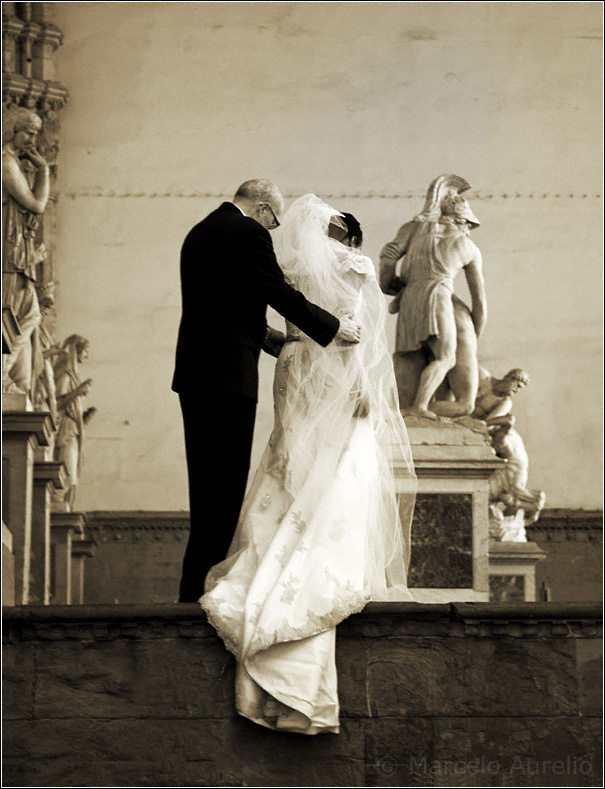 Enlaces - Corredor de la Señoría o de Lanzi - Plaza de la Señoría - Florencia - Italia