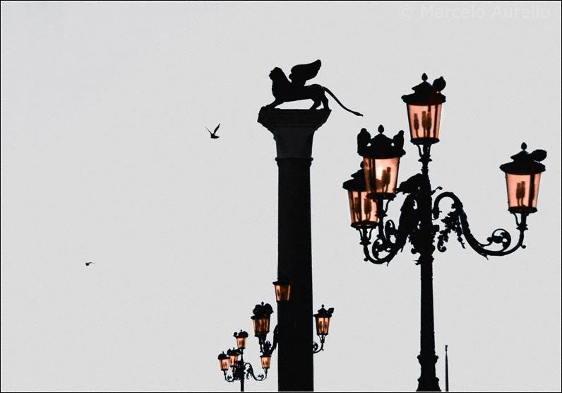Fábula de Venecia  - Plaza de San Marcos. Venecia, Italia.