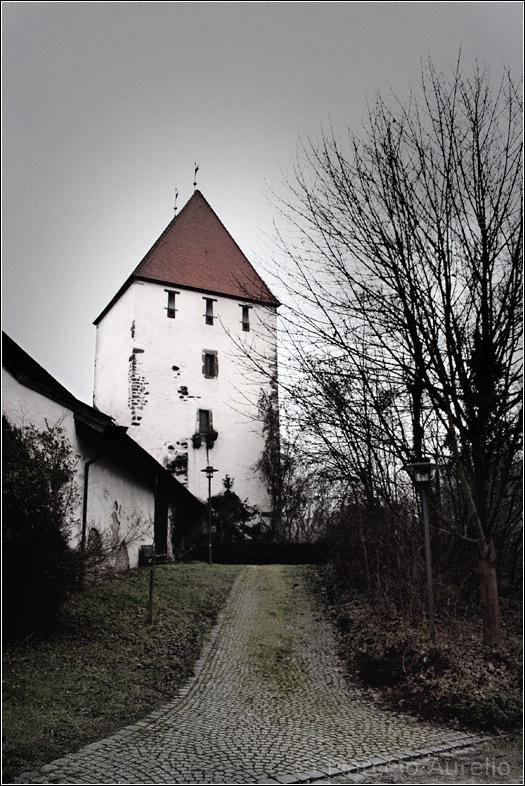 Castillo (Schloss) Neuburg a 20 km. de Passau, Baja Baviera, Alemania.