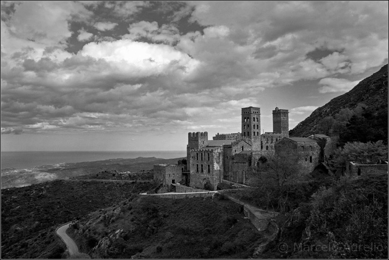 El monasterio de Sant Pere de Rodes - Port de La Selva - Girona