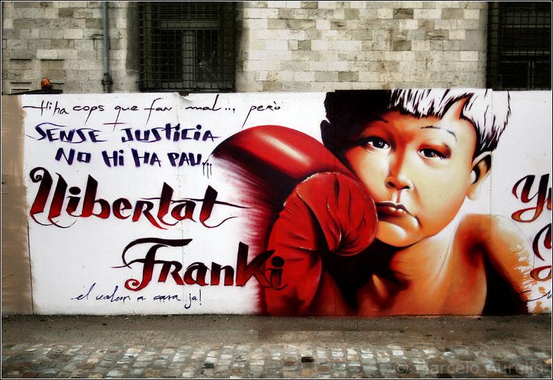 Llibertad a Franki - Girona - Catalunya