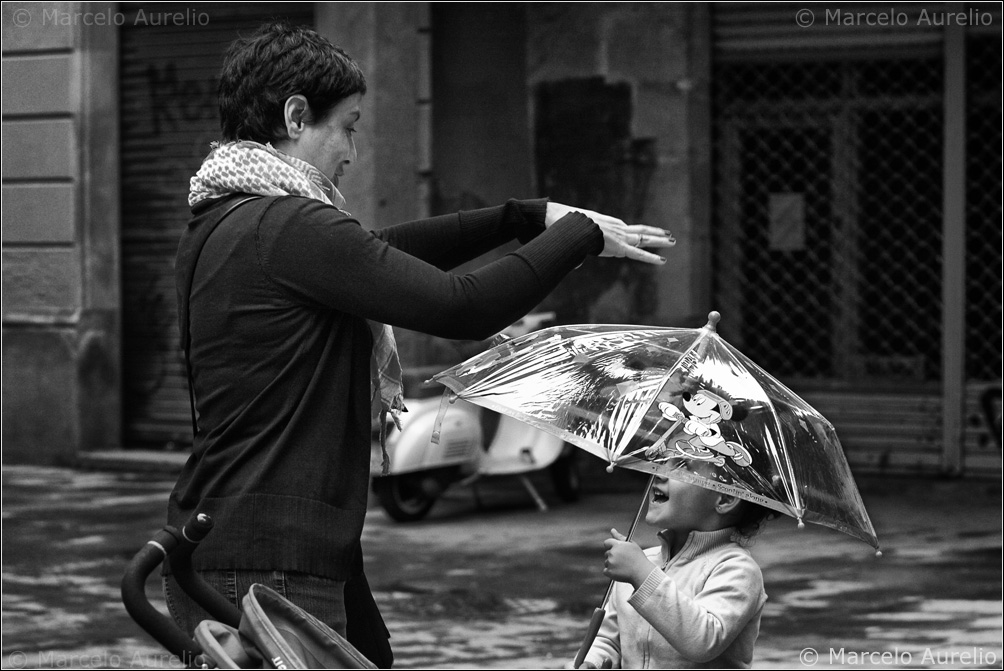 Te lluevo - Barcelona