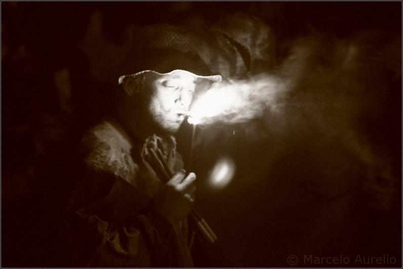 Iluminado por el fuego II - Raval Infernal - Fiesta Mayor de Terrassa 2008