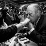 El beso - Jordi Pujol - Barcelona