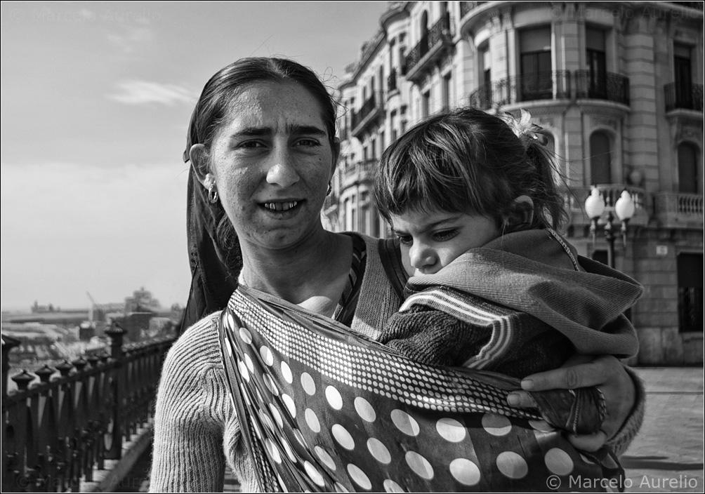 Mirela y su hija - Tarragona
