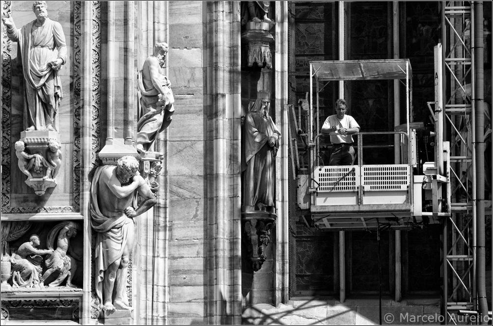 Santo mártir apóstol - Duomo de Milán - Italia