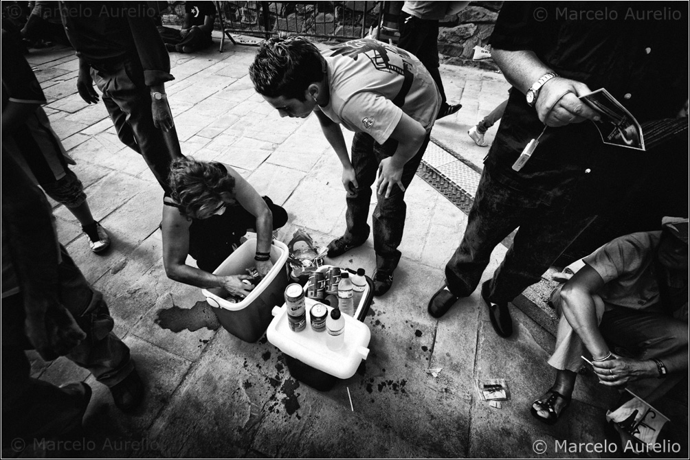 La vendedora de bebidas. Barcelona