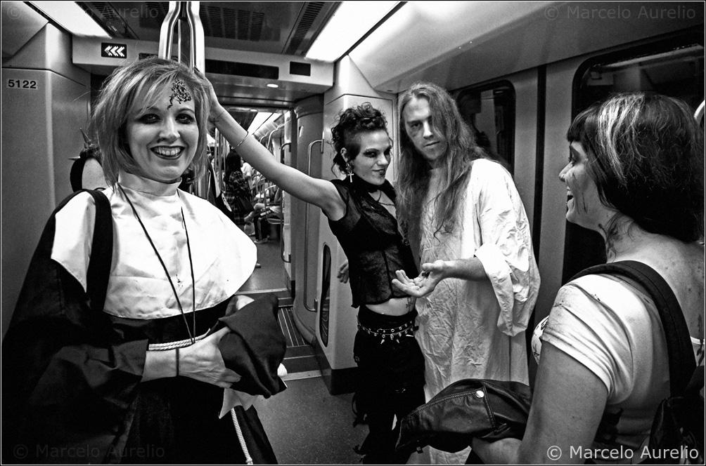 Encuentros en el metro. Barcelona