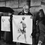 Manifestación por la paz - Barcelona