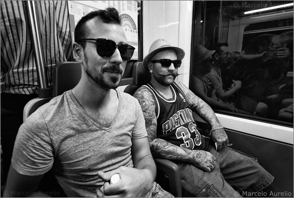Mr. Evermore y su amigo – FGC - Barcelona